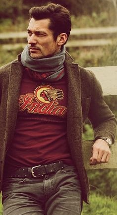 Tweed & Indian Motorcycle T, Gandy