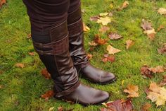 A Brown Situation ~ Life & Style of Jessica Kane wearing Cruz Stretch Back Tall Riding Boot from Avenue.