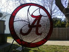 University of Alabama 'A' suncatcher