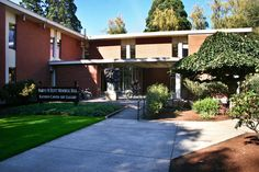 Scott Hall was named after Harvey Scott and houses classrooms and administrative buildings!