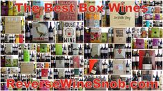 Don't begrudge the box!  The Reverse Wine Snob: Breaking Into The Box - The Best Boxed Wines. 75 different box wines tasted to bring you the very best!  http://www.reversewinesnob.com/2014/10/breaking-into-box-best-boxed-wines.html #wine #winelover