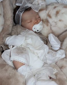 Ava, Reborn Baby Doll by Adrie Stoete