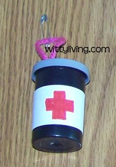 girl scout swaps | first aid kit mini real girl scouts swap