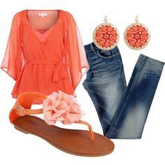 Tangerine for spring!