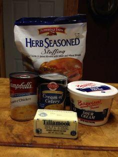 Recipe: Sour Cream Chicken Casserole