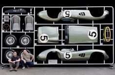 A special 1:1 scale model replica is set to go to auction during the Goodwood Revival week...