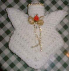 crochet angel, angel ornaments, croangeljpg 12742