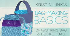 Craftsy is offering 35 different FREE online classes right now!  One of the free classes being offered is Bag-Making Basics. Click through to sign up for FREE!