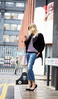 15 Charming Outfit Ideas for a Casual First Date via @WhoWhatWear