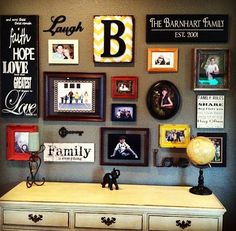 wall frame ideas, diy crafts house, photo wall diy, decorating with frames, multiple wall picture frames, multiple picture frames, photo walls projects, multiple frames, photo collages