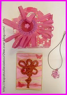 sac et collier rose ms