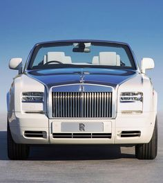 ♂ Luxury Car White Rolls