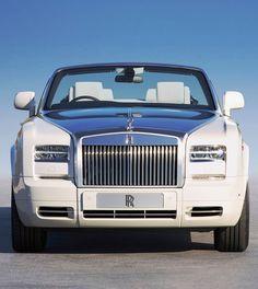 ♂ Luxury Car White Rolls