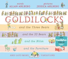 The Goldilocks Variations: A Pop-up Book by Allan Ahlberg