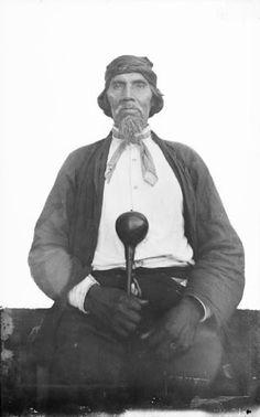 Ayunini (aka Swimmer) - Cherokee - 1888