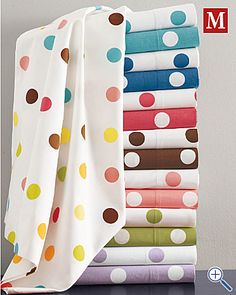 Polka Dot Sheets - fun!