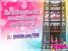 Mirá TODAS las coreos y los videos de TKM!!! Suscribite a nuestro canal de Youtube: https://www.youtube.com/user/tkm