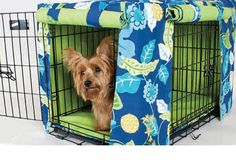 Custom Made Dog Crate Cover You select fabric and size by Love2So, $40.00
