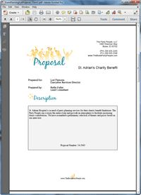 event planning proposal template .