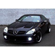 Mercedes SLK. My car!!