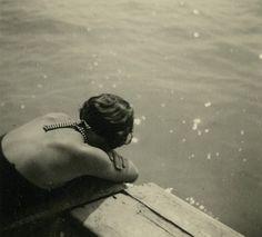 Reflection.  Timeless.  Vintage Photo, 1930s
