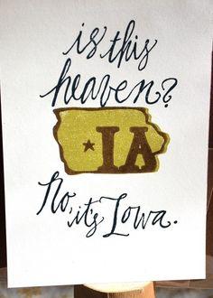 Is this heaven? No, it's Iowa. (I still miss it there!) #iowa #heaven