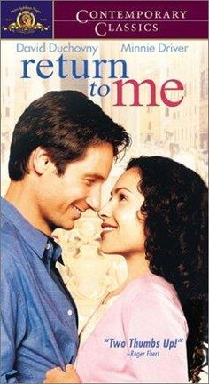 """""""Return to Me"""" - David Duchovny and Minnie Driver"""
