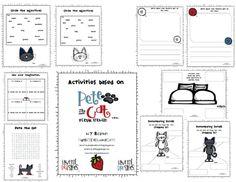 cats, cat activ, idea, school, teacher notebook, pete, packet freebi, read, activ packet