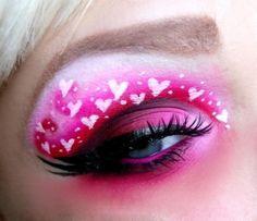 Hearts Makeup