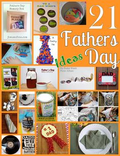 21 Ideas to Make Fathers Day Special with DIY and Kids Crafts