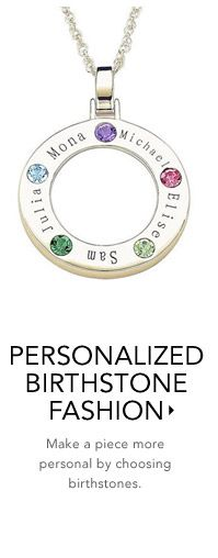Birthstone Jewelry - Birthstone Earrings, Birthstone Necklaces and Birthstone Rings. Gemstone Jewelry and More from Zales.