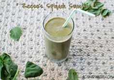 Date Night + {Reese's Spinach Smoothie} | Nosh and Nourish