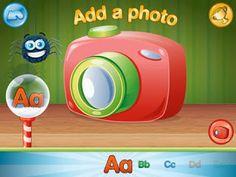 Children's iPad App, ABC Spy HD