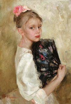 Natalia Milashevich. Russian, Born in 1967.