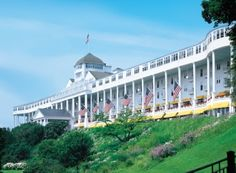 @Grand Hotel on Mackinac Island. #puremichigan