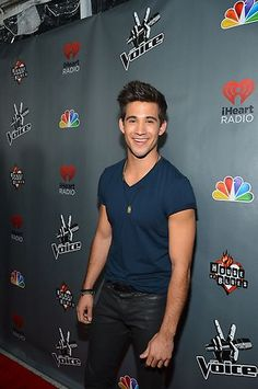 Dez Duron at the #Top12 party. #TheVoice