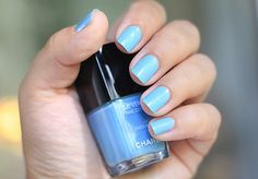 Chanel Le Vernis in Coco Blue.