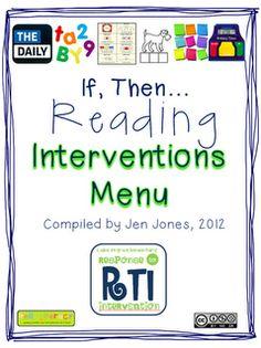 Hello Literacy: RTI Documents {finally} Ready!
