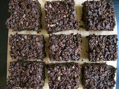 chocolate rice crispie treats