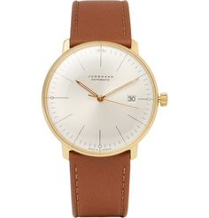 Junghans x Max BillGold-Plated Automatic Watch|MR PORTER