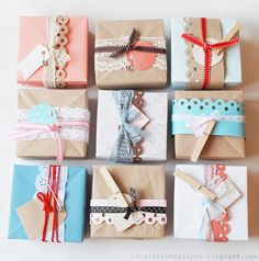 Pretty packages!