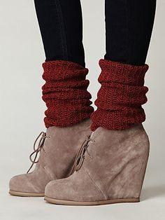 Cute little sweater socks!