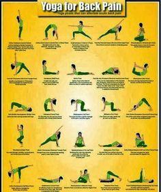 U Daily Info 2: Back Pain: Yoga Poses for Backache