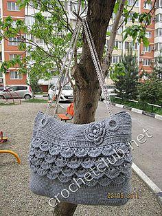 crochet bag + pattern