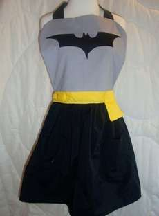 Superhero Aprons are Perfect for Geeky Chefs #valentinesday trendhunter.com