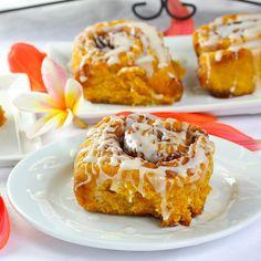 Pumpkins, Yum Yum, Pumpkin Cinnamon Rolls