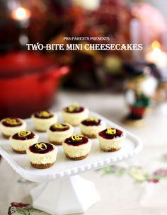 Two-Bite Mini Cheesecakes