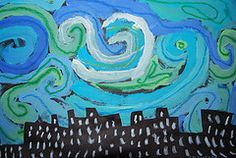 Starry night...inspired by Van Gogh