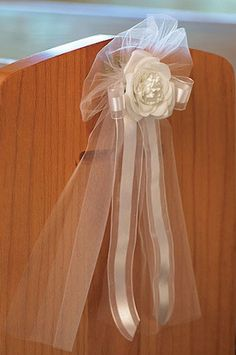Tulle and Ribbon Bow