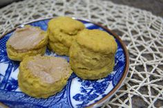 Pumpkin Biscuits with Cinnamon Honey Butter - 365 Days of Baking & More